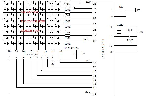 led display circuit diagram info led display circuit diagram wiring diagram wiring circuit